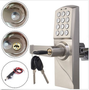 Zinc Alloy Electroinc Combination Lock Unlocked by Password or Mechanical Key pictures & photos