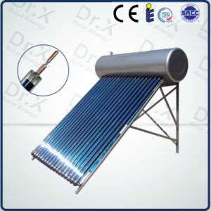 High Quality Integrated Pressure Heat Pipe Solar Water Heater pictures & photos