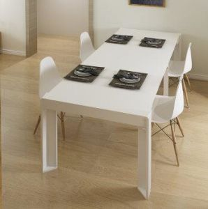 China Stretching Table Foldable Dining, Folding Dining Room Table