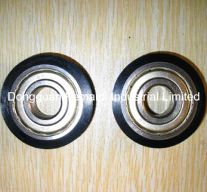 6304zz PU Attached Bearing for Conveyor