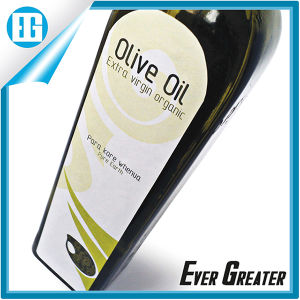 Custom Olive Oil Bottle Label with Self Adhesive Properties pictures & photos