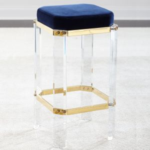 Contemporary Acrylic Clear Bar Stool