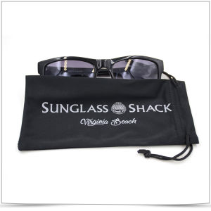 Double-Side Soft Drawstring Microfiber Bag for Sunglass pictures & photos
