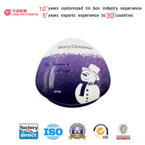 Christmas Series Packaging Tin Boxes Metal Boxes (T001-V9)