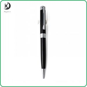 High Quality Personalized Black Metal Ballpoint Pen Ballpoint Pen Custom Ball Pen Manufacturer