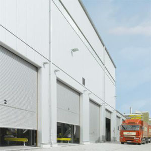 Large Factory Roller up Door pictures & photos