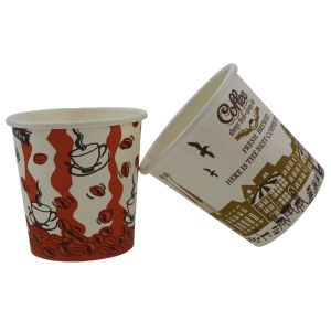 China Manufacturer Supply Flexo Printing 2 5oz Coffee Drink Cup