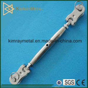 Stainless Steel Closed Body Wire Rope Toggle Turnbuckle