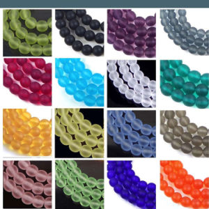 Multi Color Crystal Matte Beads for Fashion Jewelry