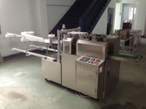 Zmj Series Custom Automatic Vertical 70 Alcohol Prep Pad Packaging Machine pictures & photos