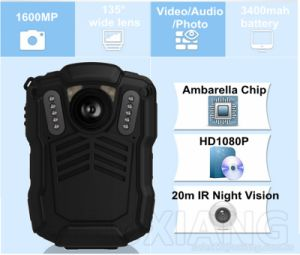 HD 2.0inch Portable Night Vision Police Enforcement Recorder Police DVR Camera