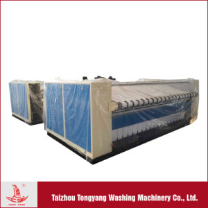 Flatwork Ironing Machine for Hotel / Hospital Bed Linens/ Steam Heated Double Rollers Flatwork Ironer pictures & photos