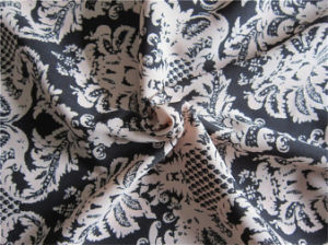 Polyester Assists Twists Imitated Hemp Fabric for Garment (XSFH-001) pictures & photos