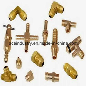 Brass Fitting CNC Machining Parts pictures & photos