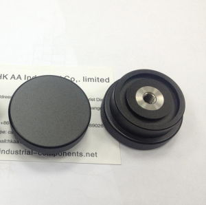 CNC Machining Custom Black Anodized Stainless Steel Knurled Thumb Nut pictures & photos