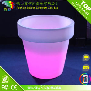 Rechargeable Li-Battery LED Flower Pot