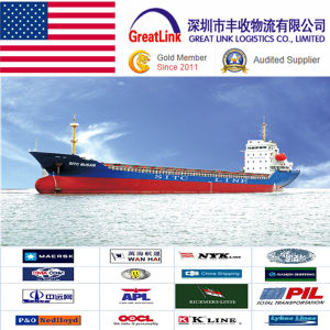 LCL/FCL Sea Freight Shipping Service From Guangzhou, Shenzhen, Shanghai, Ningbo, Xiamen, Qingdao, China to Lax, USA