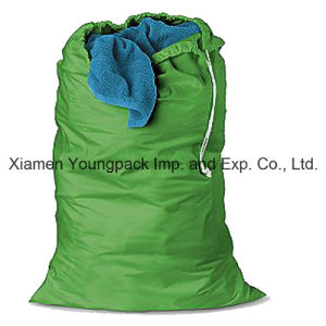 Promotional Custom Printed Plain Calico Travel Shoe Storage Dust Packing Bag Large 100% Natural Organic Cotton Canvas Drawstring Wash Laundry Bags pictures & photos