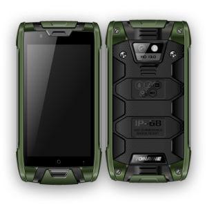 best loved 1a3ff 542c5 4G Lte Dual SIM IP68 Waterproof Dustproof Rugged Cell Smartphone