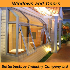 Awning Aluminum Window with Kinlong Brand Fittings pictures & photos