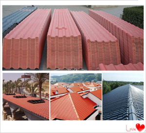 Classic Corrugated Roof Tile China Manufacture pictures & photos