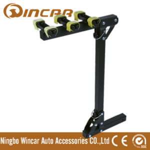 "Rear Bike Carrier with Standard 2"" or 1-1/4"" Hitch Receiver"