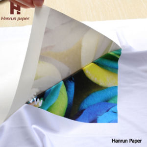 70, 100GSM Full Sticky Sublimation Transfer Paper Roll for Spandex Fabric, Sportswear
