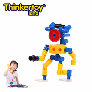 Thinkertoy Land Blocks Educational Toy Robot Series Alines Come Intelligent Beings (R6101)