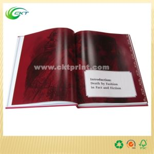 Book Printing for Hard Cover Book, Soft Cover Book, Magazine (CKT-BK-1069)