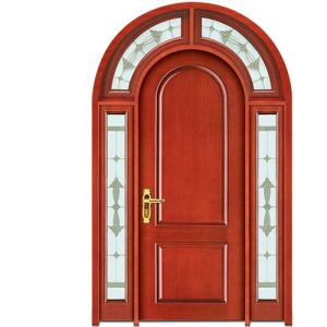 China Finished Teak Wood Room Door Front Door Design China Outside