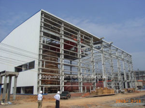 Steel Structure Building with Galvanized / Paint