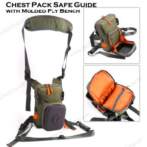 Wholesale Cool Chest Back Pack Backpack Saft Guide with Molded Fly Bench Nylon Multi-Function Fishing Bags