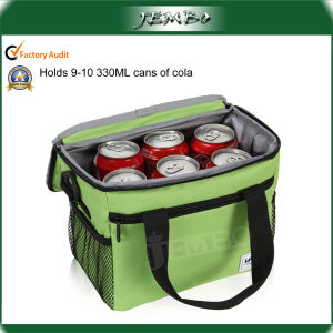 Large Insulated Thermal 600d Material Cooler Bag for Food Storage pictures & photos