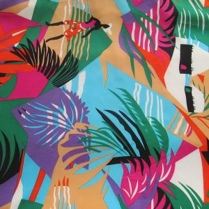 Digital Printing for Charmeuse Style Silk Fabrics pictures & photos