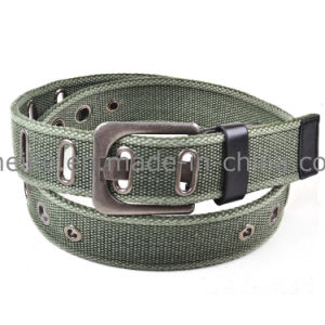 2016 New Leisure Fashion Men Cotton Canvas Belt Garment Accessories pictures & photos