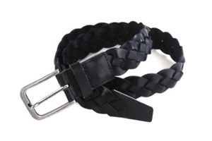New Fashion Men Top Leather Woven Belt (KB-1509099-1)