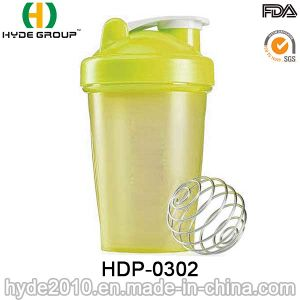 Newly 400ml Plastic Protein Shaker Bottle (HDP-0302) pictures & photos