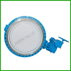 Resilient Seat Double Offset Flange Butterfly Valve