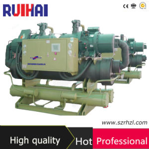 Screw Semi-Hermetic Industrial Water Cooled Chiller with PLC Controller pictures & photos