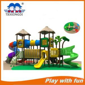 Kindergarten Toddler Play Equipment Structures Outdoor Playground for Fun pictures & photos