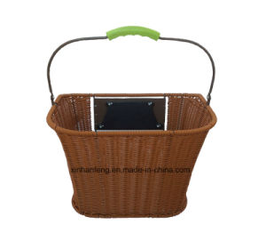 High Quality Hot Sale Rattan Bicycle Basket for Bike (HBG-145) pictures & photos