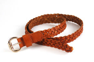 New Fashion Men Top Leather Woven Belt (KB-1509098-2)