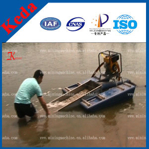 Portable Gold Dredger Boat pictures & photos