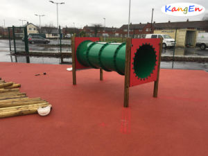 Red EPDM Rubber Granules for Playground pictures & photos