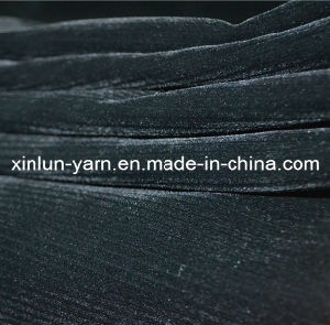 Stripe Discharge Printed Garment Flocking Fabric pictures & photos