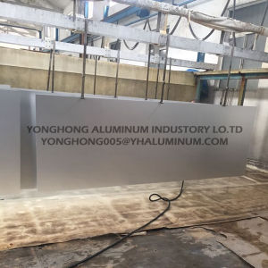 5052 Natural Silver Anodized Aluminum Sheet for Wall, Traffic Signs pictures & photos