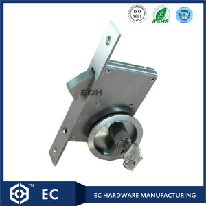 30-50mm Stainless Steel 304 Sliding Door Lock with Handle (RML-23)