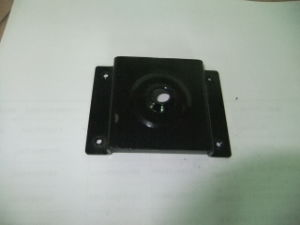SPCC Caster Base and Stamping Part with Black Anodize