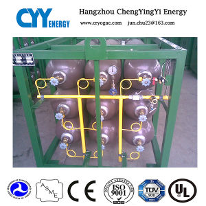 Offshore Oxygen Nitrogen Argon Gas Cylinder Rack pictures & photos