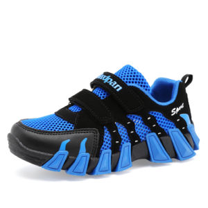 Sports Shoes Hollow Breathable New Design for Kids Shoe (AKP759) pictures & photos